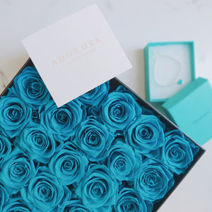 tiffany rose, mint rose, long lasting roses, preserved roses sydney, rose box sydney, flower box sydney, rose delivery sydney