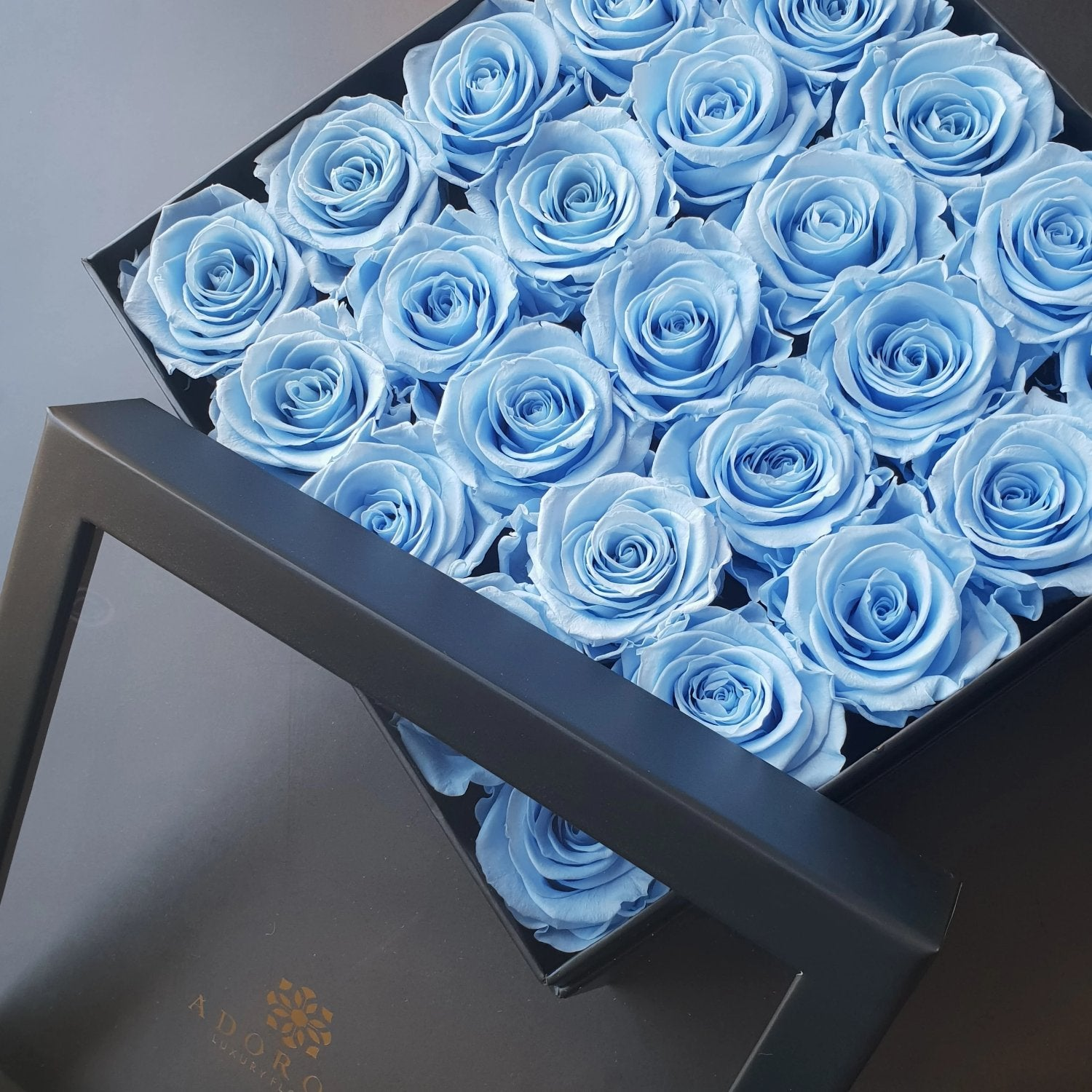 blue roses, long lasting roses, preserved roses, preserved flowers, rose box delivery sydney, rose delivery sydney, luxury rose delivery sydney, long lasting roses australia
