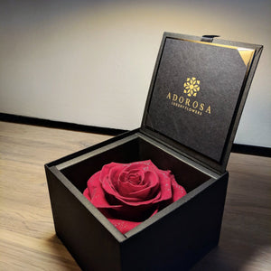 rose, rose box, rose box sydney, flower delivery sydney, flower box, preserved rose, preserved flower, red rose, birthday flower, valentines rose, anniversary flower, diamond rose, long lasting rose