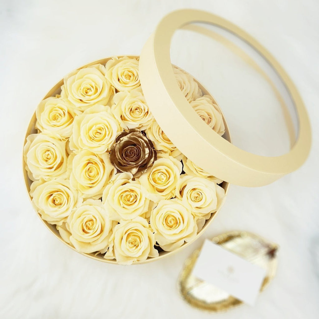 rose, flower, preserved rose, preserved flower, long lasting rose, rose box, flower box, sydney florist, flower delivery sydney, eternity rose, rose box sydney, flower box sydney, rose delivery, gold rose