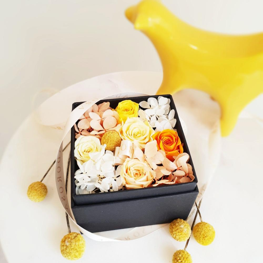 rose, flower, preserved rose, preserved flower, long lasting rose, rose box, flower box, sydney florist, flower delivery sydney, eternity rose, rose box sydney, flower box sydney, rose delivery, birthday gift, wedding gift, yellow rose