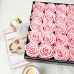 rose box, flower box, rose box sydney, flower box sydney, pink rose sydney, preserved rose sydney, preserved flower sydney, long lasting rose, infinity rose, eternity rose, long life rose sydney