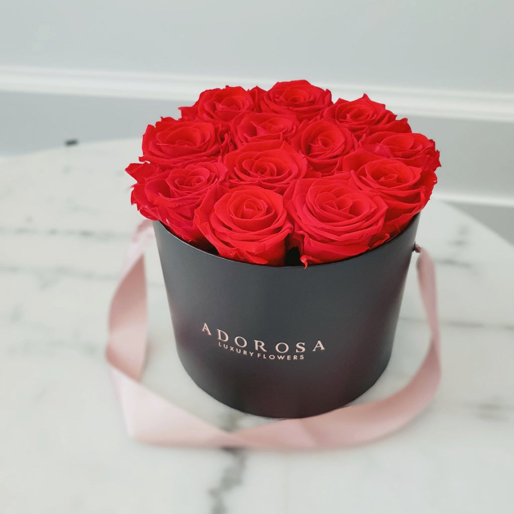 Valentine's day, red rose, long lasting roses, infinity roses, everlasting roses, preserved roses, preserved flowers, rose delivery sydney, rose box sydney, flower box sydney, preserved roses sydney