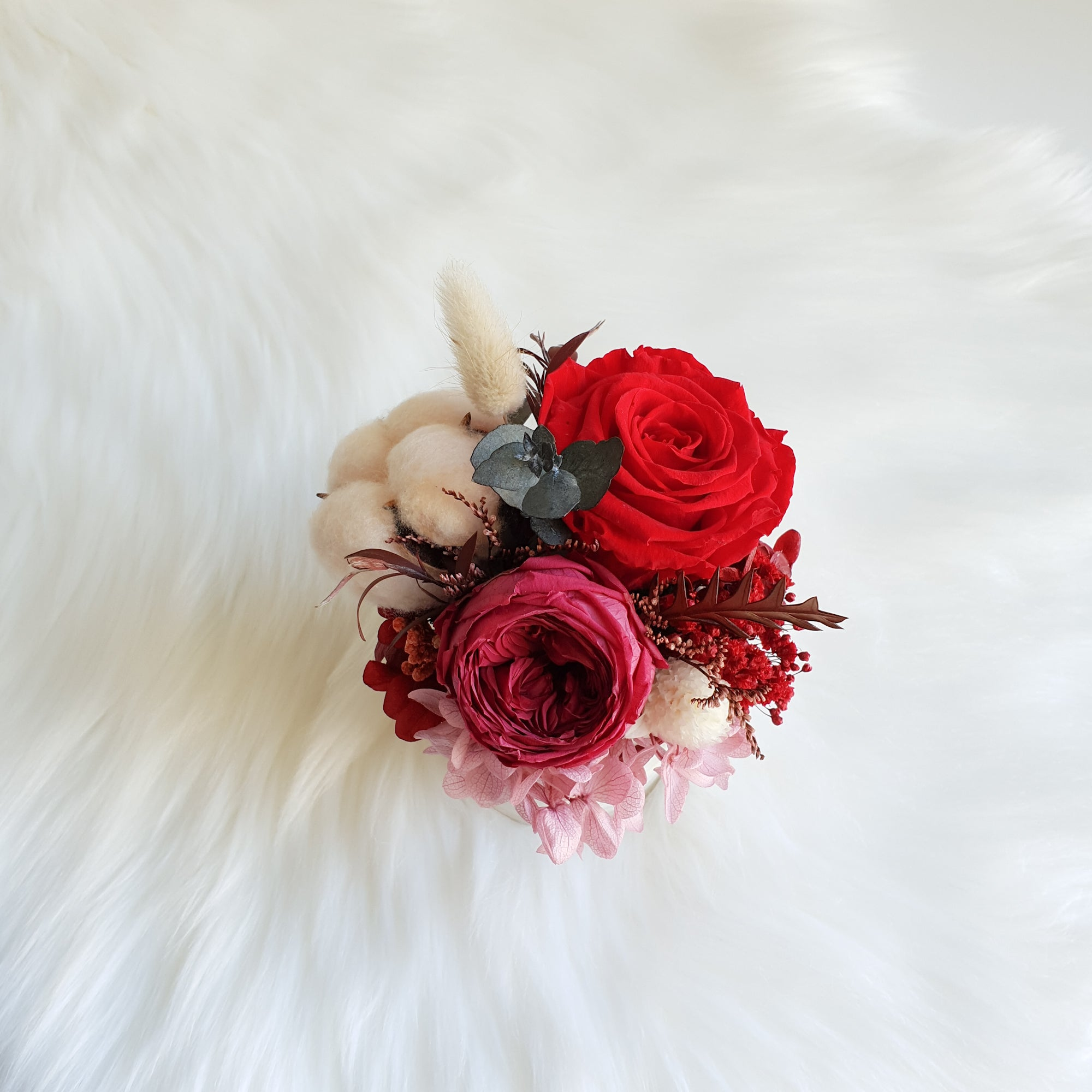 preserved flowers sydney, preserved roses sydney, forever roses, long lasting roses, luxury roses, infinity roses, rose box sydney, cotton