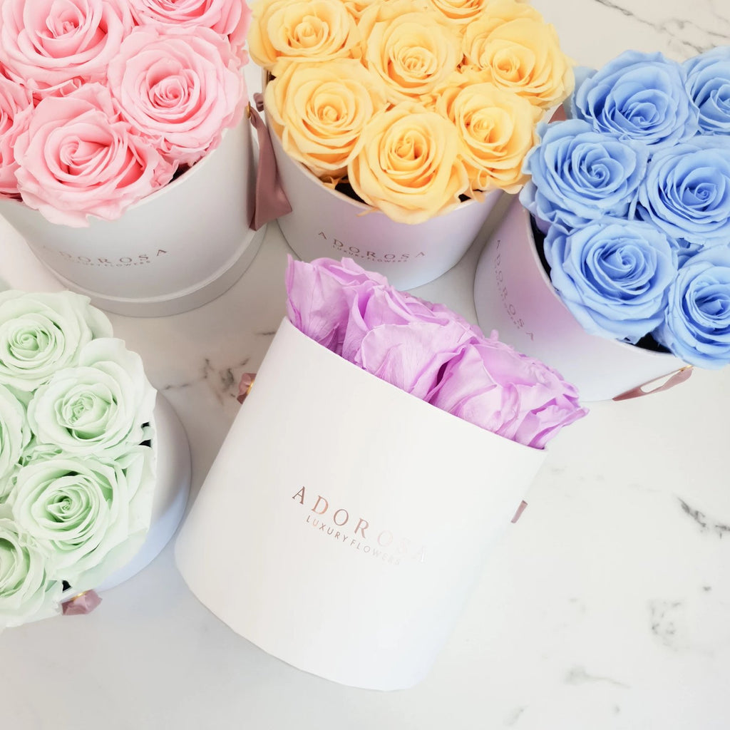 rose box, flower box, rose delivery sydney, long life roses, long lasting roses, luxury roses, sydney florist, eternity roses, infinity roses, preserved roses, preserved flowers