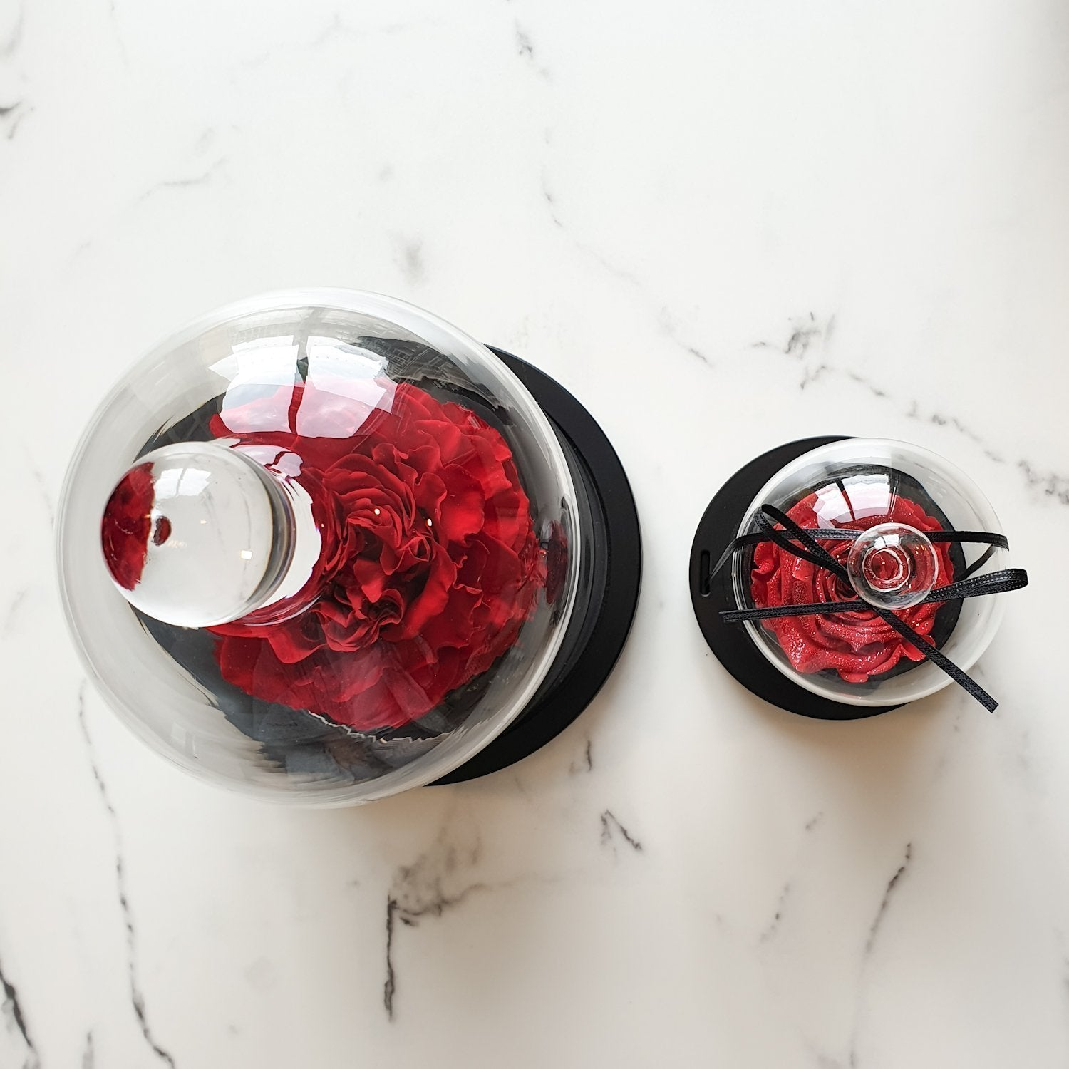 glass dome rose, luxury rose sydney, long lasting rose sydney, everlasting roses, preserved roses, ring box