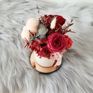 rose sydney, flower box, rose box, preserved rose sydney, preserved flower sydney, rose delivery sydney, flower delivery sydney, cotton flower, cotton