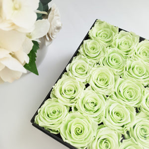 green rose, preserved rose, preserved flower, long lasting rose, rose box, flower box, sydney florist, flower delivery sydney, eternity rose, rose box sydney, flower box sydney, rose delivery, birthday gift, wedding gift, diamond rose, green rose