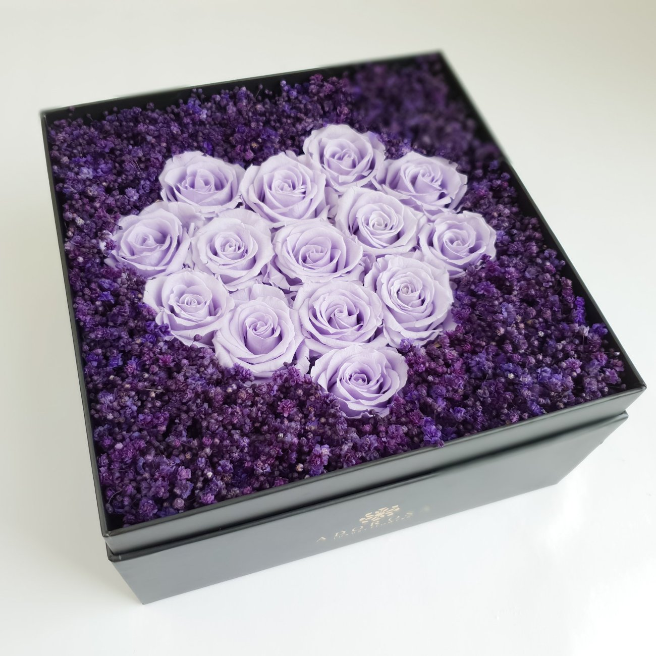 purple rose, preserved roses, preserved flowers, rose box sydney, heart box, flower box sydney, long lasting roses sydney