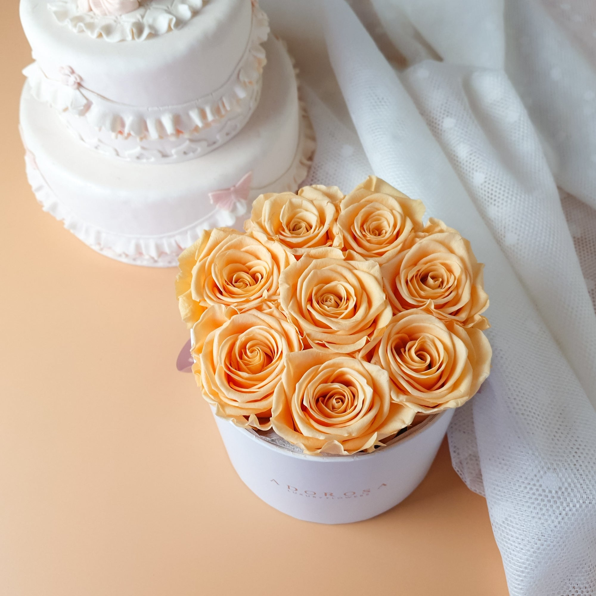 preserved roses, preserved flowers, luxury rose delivery Sydney, rose box Sydney