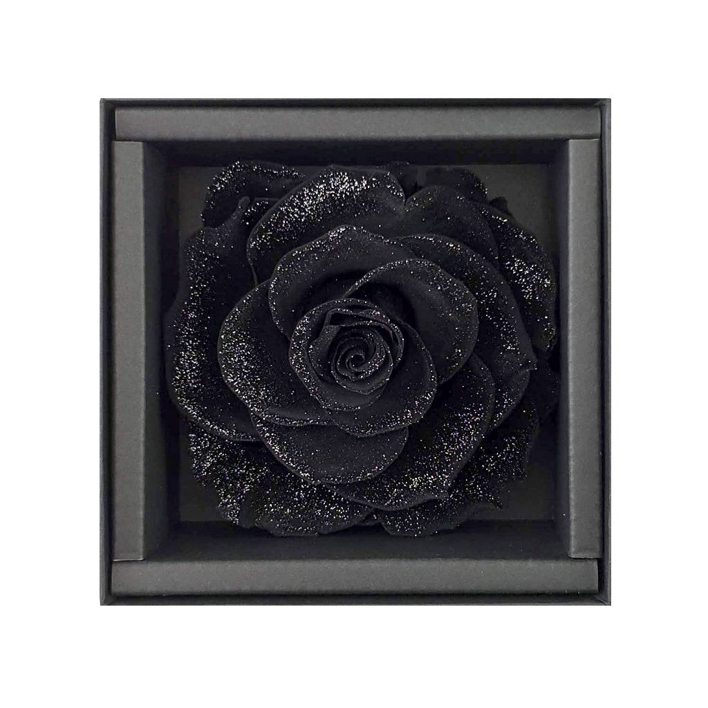 white rose, black rose, rose box, rose box sydney, flower, flower box, flower box sydney, sydney flower delivery, eternity rose, long lasting rose, preserved rose, preserved flower, diamond rose, long lasting roses sydney