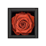 Antique Red Diamond Rose Proposal Ring Box available for delivery across Sydney and Australia