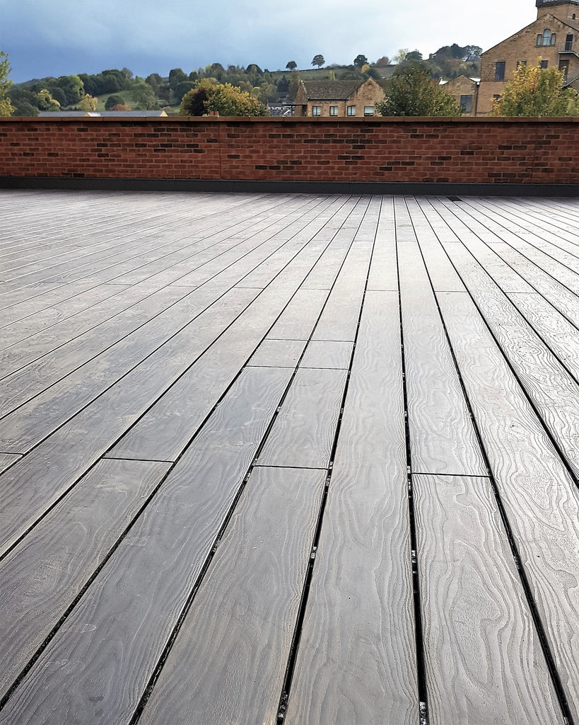 Composite Wood Decking System Boards