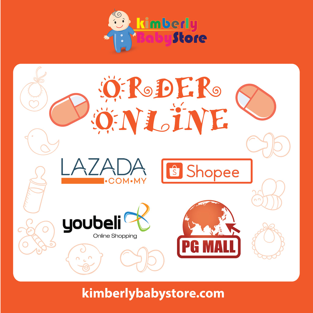 STAY SAFE | STAY HOME | SHOPE ONLINE. You can visit us now at Lazada & Shopee!