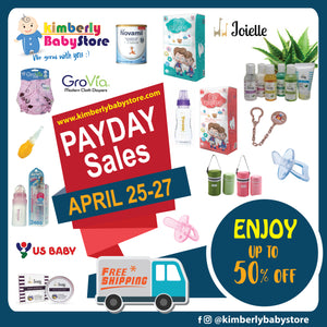 It's Payday Sales!!! (April 25-27, 2019)
