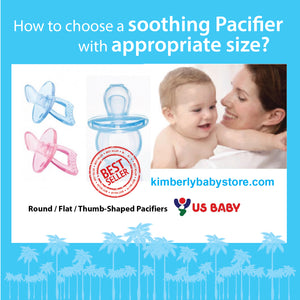 How to choose a soothing pacifier with appropriate size?