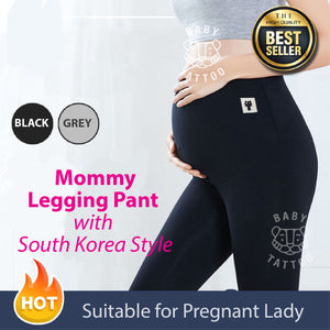 Maternity Leggings Low Waist Pregnancy Belly Pants