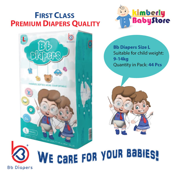 Bb Premium Diapers Size L