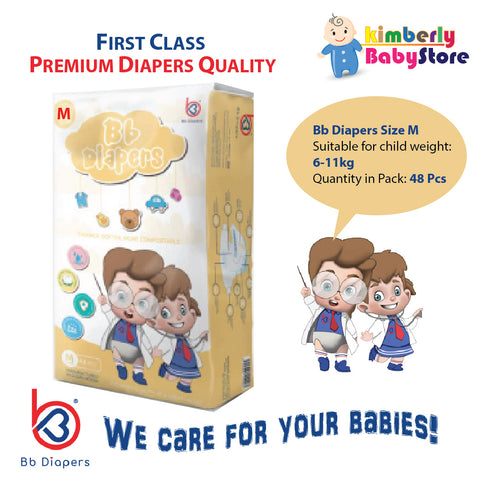 Bb Premium Diapers Size M