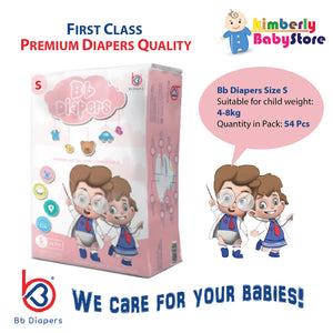 Bb Premium Diapers Size S