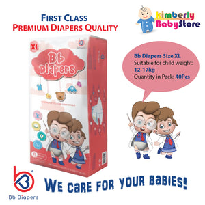 Bb Premium Diapers Size XL