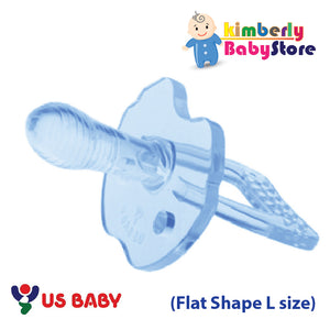 US Baby Sili-Smart Flat Shape Pacifier with case (L)