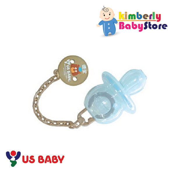 US Baby Sili-Smart Orthodontic (Thumb Shape) Pacifier with case (S)
