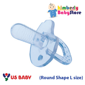 US Baby Sili-Smart Standard (Round Shape) Pacifier with case (L)