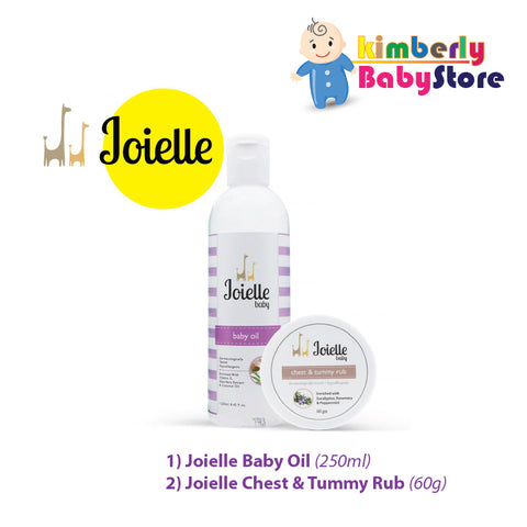 Joielle Baby Oil + Joielle Chest & Tummy Rub (Combo)