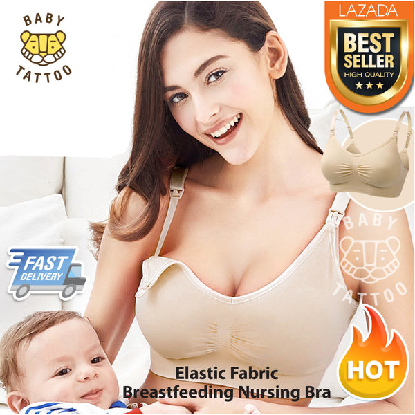 Elastic Mother Breastfeeding Sport Nursing Bra