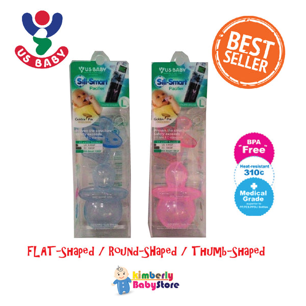 IBU BUY1FREE1 Sili-Smart Standard (Round Shape) Pacifier with case (L)