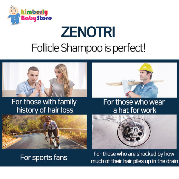 ZENOTRI Anti Dandruff and Hair Growth Complete Set