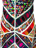 Sleeveless Multicolor Knit Dress by Didier Parakian