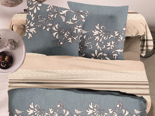 Zen Microfiber Printed Bed Sheet Set