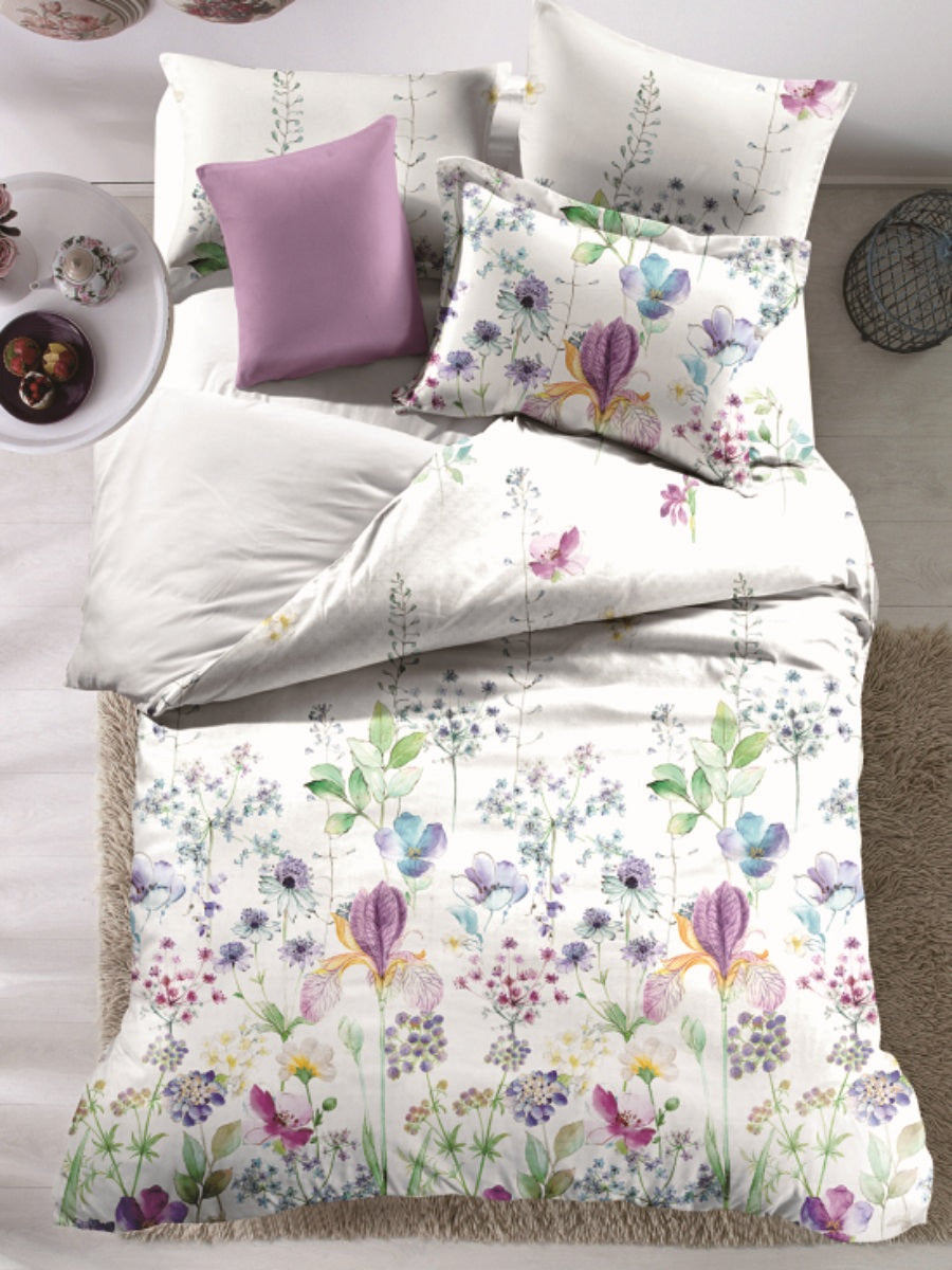 Charming Countryside Microfiber Printed Bed Sheet Set