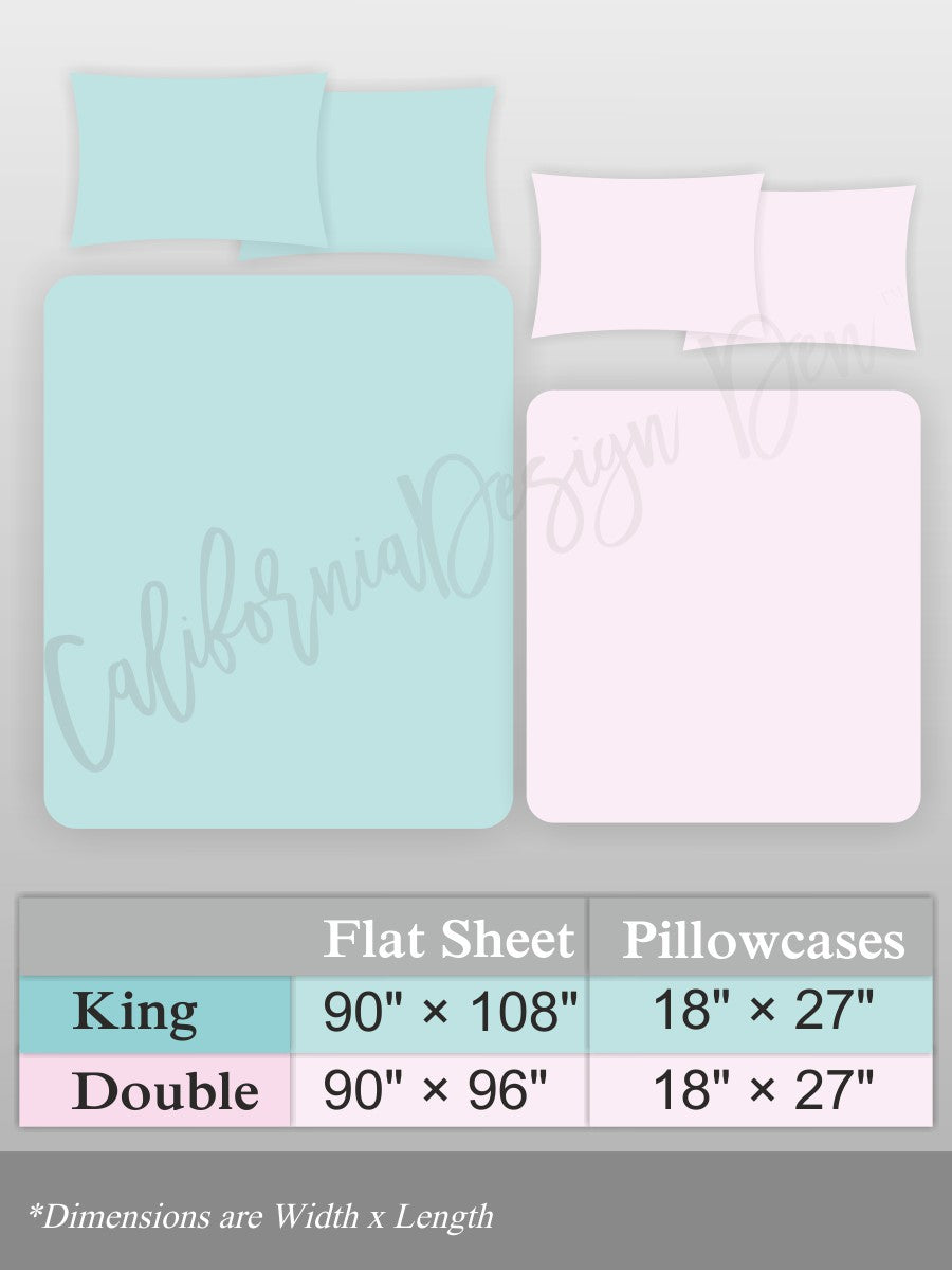 Grey Cotton Solid Bed Sheet Set