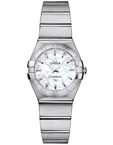 Omega Constellation Brushed Quartz 24mm Women's Watch