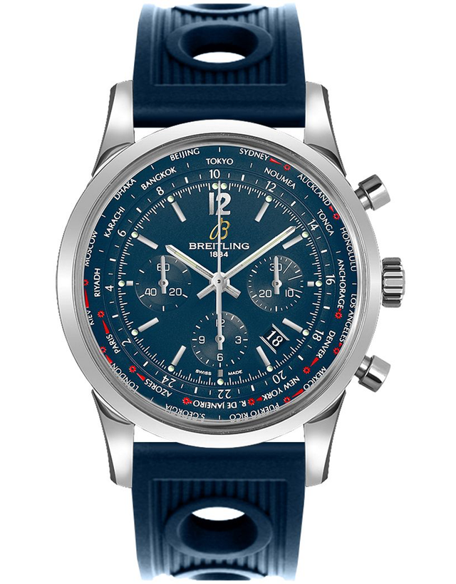 Breitling Transocean Unitime Pilot Men's Automatic Watch