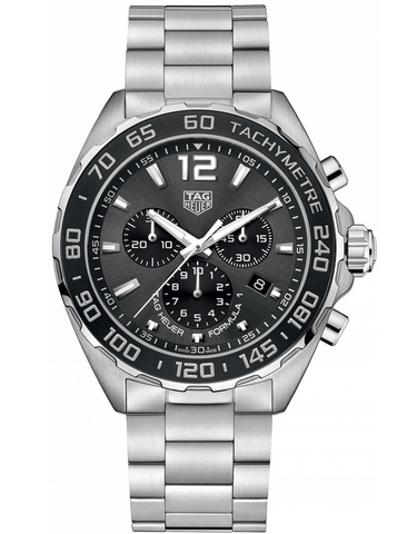 Tag Heuer Formula 1 Quartz Chronograph Anthracite Dial Stainless Steel Men's Watch