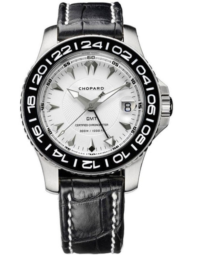 Chopard L.U.C Pro One Leather Strap Men's Watch