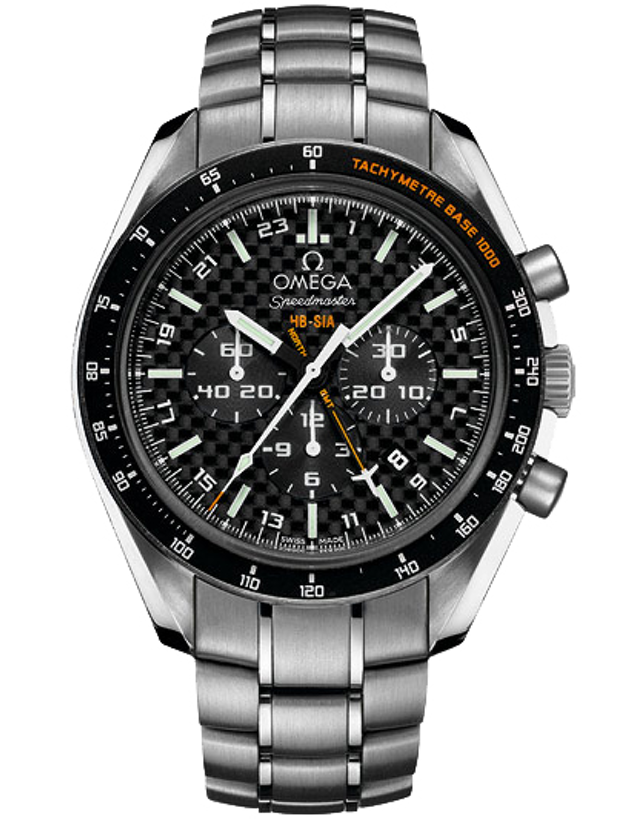 OMEGA SPEEDMASTER HB-SIA CO-AXIAL GMT CHRONOGRAPH SOLAR IMPULSE LIMITED EDITION MEN'S WATCH