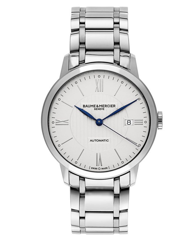 BAUME & MERCIER CLASSIMA EXECUTIVES AUTOMATIC STEEL MEN'S WATCH