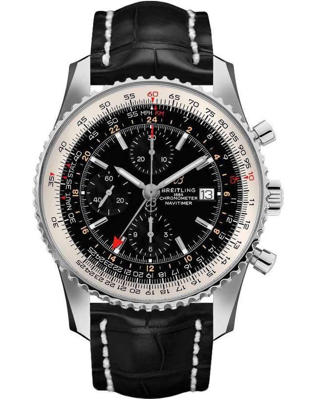 Breitling Navitimer 1 Chronograph GMT 46 Mens Watch
