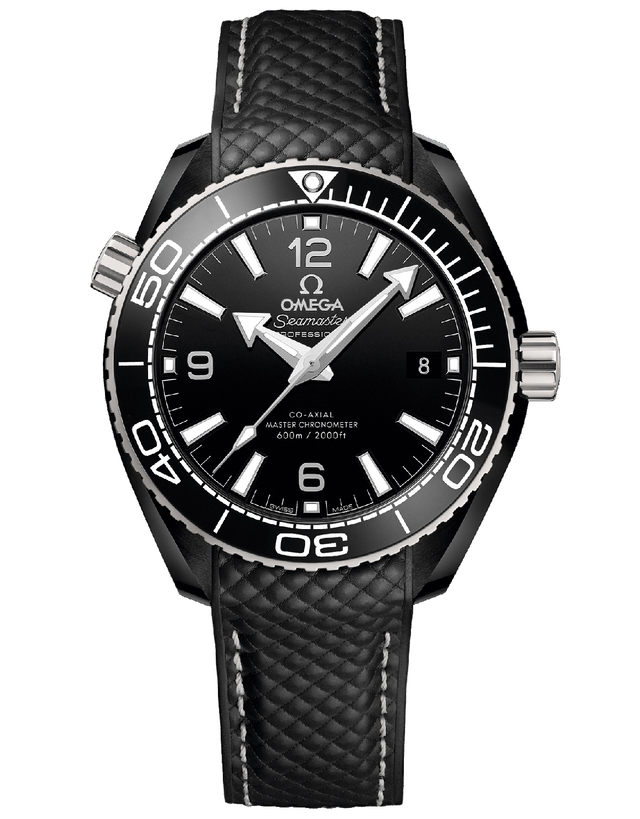 Omega Seamaster Planet Ocean Automatic Black Dial Men's Watch