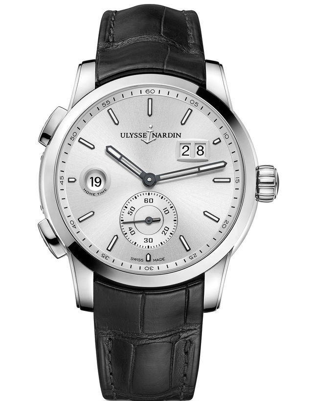 Ulysse Nardin Dual Time Manufacture 42mm Mens Watch