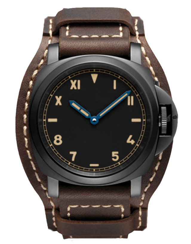 Panerai Luminor 1950 Black Dial Men's Watch