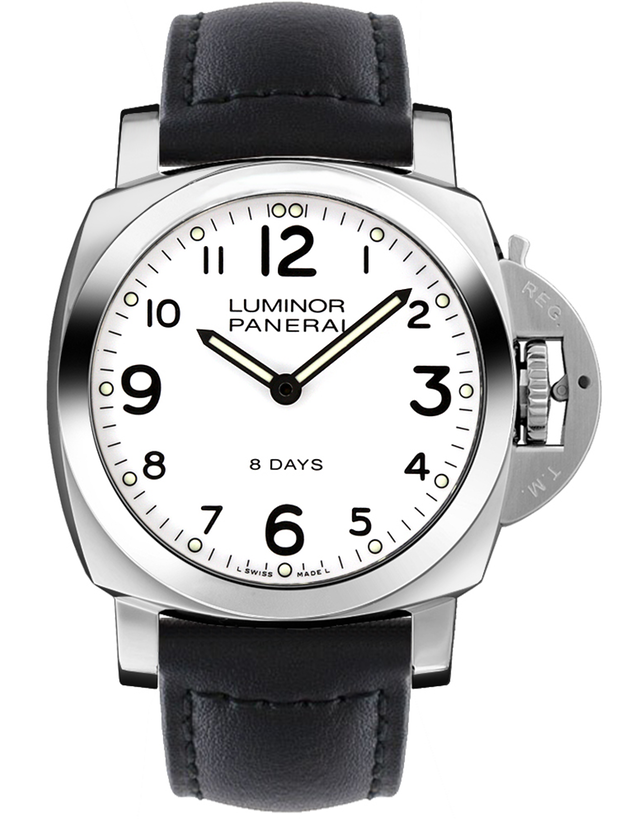 Panerai Luminor Base 8 Days Acciaio Men's Watch