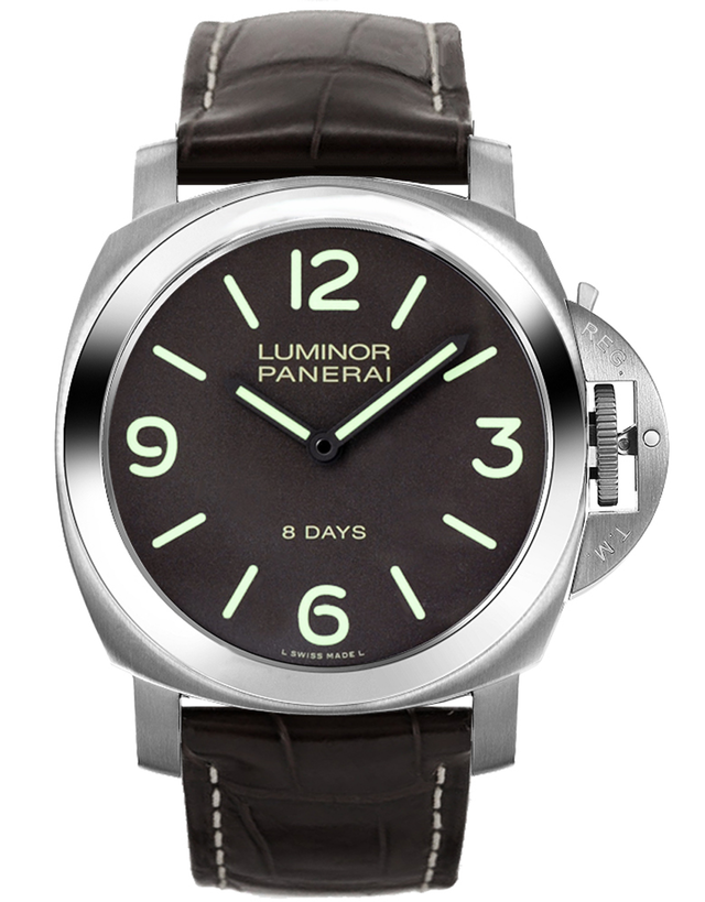 Panerai Luminor Base Titanio Brown 44mm Men's Watch