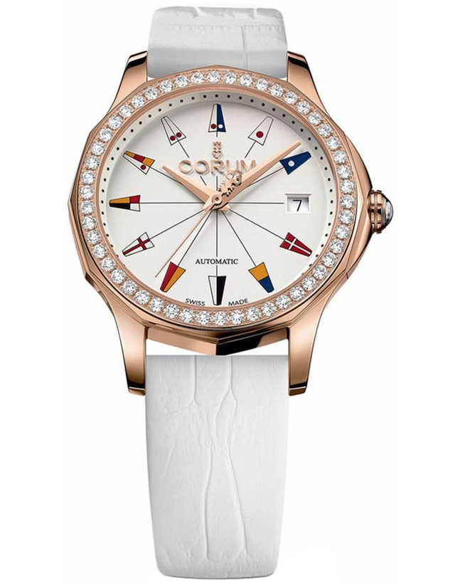 Corum Admiral Legend 38 Rose Gold Ladies Watch