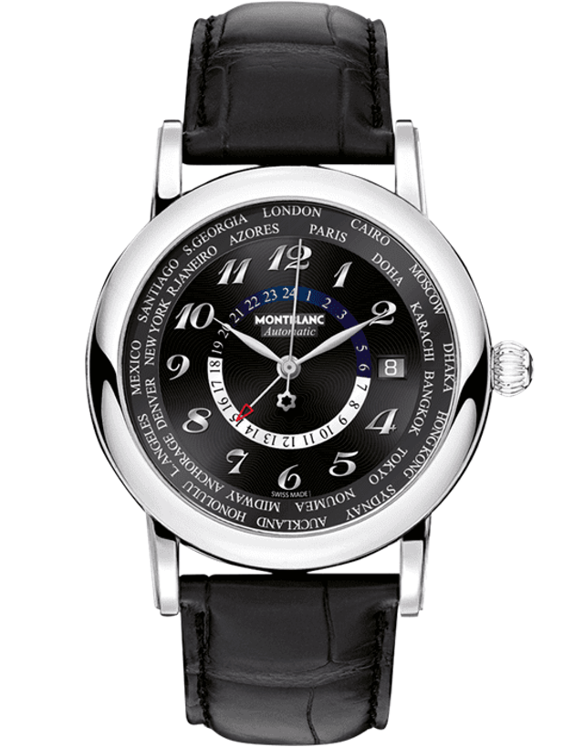 MontBlanc Star Black Dial Men's Watch